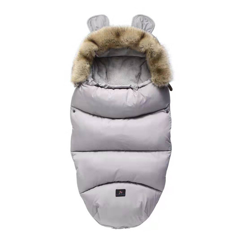 Baby Sleeping Bag Infant Stroller Sleeping Bag Spring Winter Warm Sleepsacks Robe 0-24 Months Infant Thick Warm Envelopes
