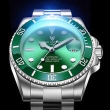 2020 Luik Ontwerp Mechanische Horloge Merk Luxe Mannen Horloges Saffier Automatische Horloge Mannen Roestvrij Staal Waterdichte Business