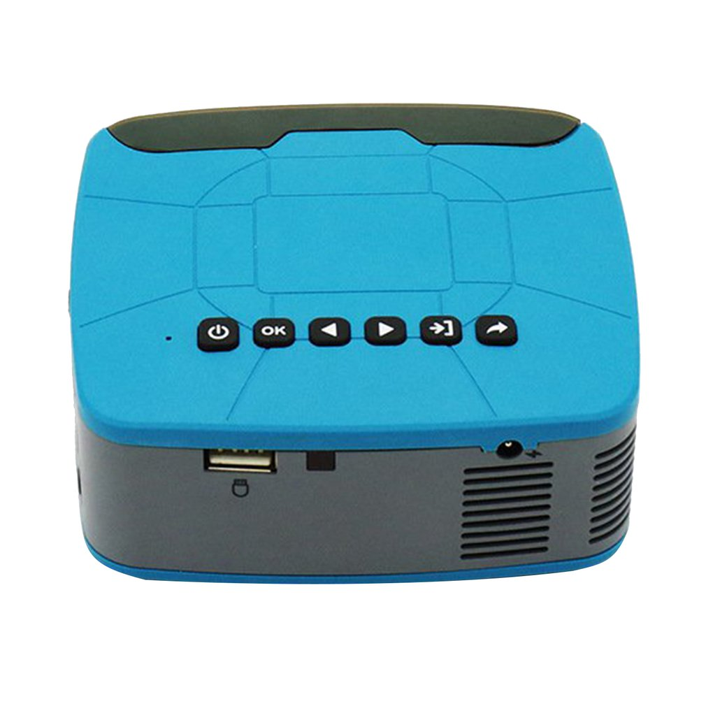 U20 Mini LED Multimedia 1080P Projector 7000 Lumen(MAX) 5.0 Inch For Home Entertainment Led Projector Home Cinema EU PLUG