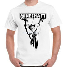 Mineshaft Gay Club Lgbt Nyc Freddie Mercury Pride Hipster Cool Retro T-shirt Groothandel T-shirt(China)