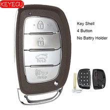 KEYECU Smart Remote Key Shell Fall Fob 4 Taste für Hyundai Tucson 2014-2015 P/N: 95440-2S600 (Keine Battry Halter)(China)