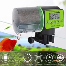 Fajny automatyczny podajnik karmy dla ryb cyfrowy akwarium akwarium elektryczny plastikowy podajnik czasowy dozownik do karmienia żywności narzędzie podajnik ryb tanie tanio other 200 ml CN (pochodzenie) JJ25829