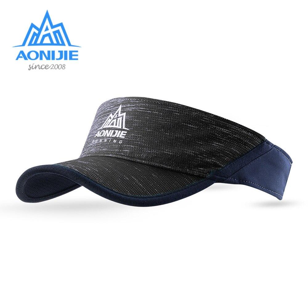 AONIJIE E4080 Summer Sun Visor Cap Hat Sports Beach Golf Fishing Marathon With Adjustable Strap Anti UV Quick Dry Lightweight