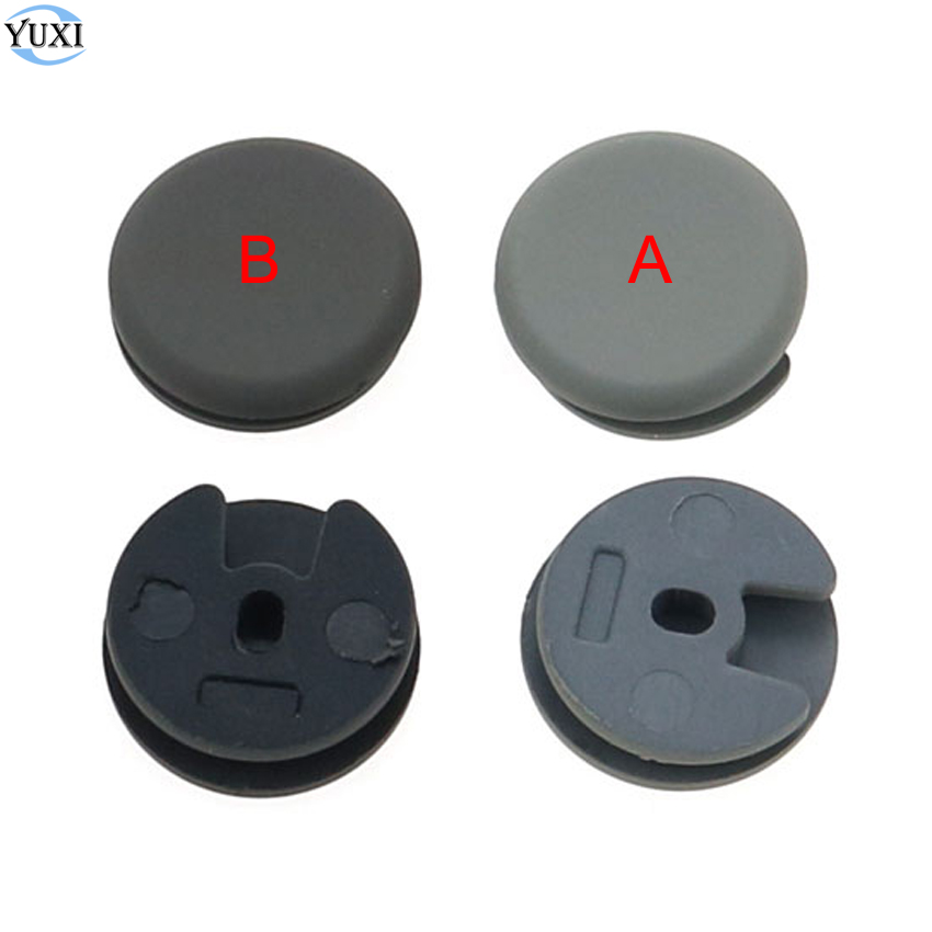 YuXi 1pcs For 3DS For 3DS XL/LL Replacement Part Analog Grips Stick Joystick Cap Cover.