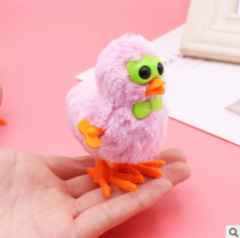 Spring Plush Toys Chickens Cartoon Baby Run Chickens Children'S Educational Cute 6-Year-Old Nostalgic