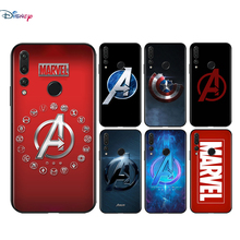 Silicone Cover Marvel Fashion logo For Huawei Honor 9 X 9N 8S 8C 8X 8 A V9 7S 7A 7C Pro lite Prime Play 3E Phone Case