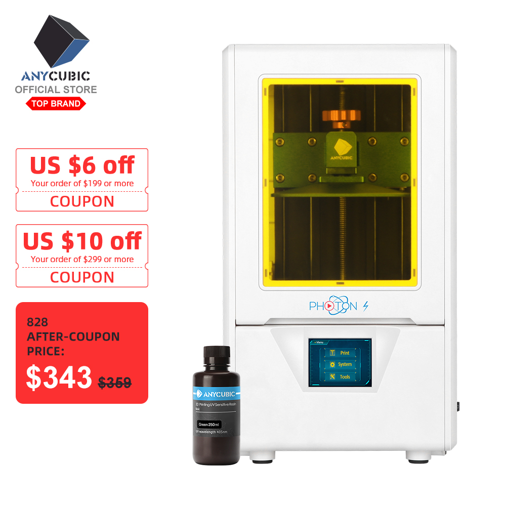 ANYCUBIC Uv-Light Matrix Photons SLA Uv-Module 3d-Printer 405nm Upgraded Dual-Z LCD Axis