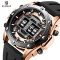 RUIMAS Цифровые кварцевые часы для мужчин лучший бренд класса люкс водонепроницаемые наручные часы мужские силиконовые ремешок Военные Relogio ...