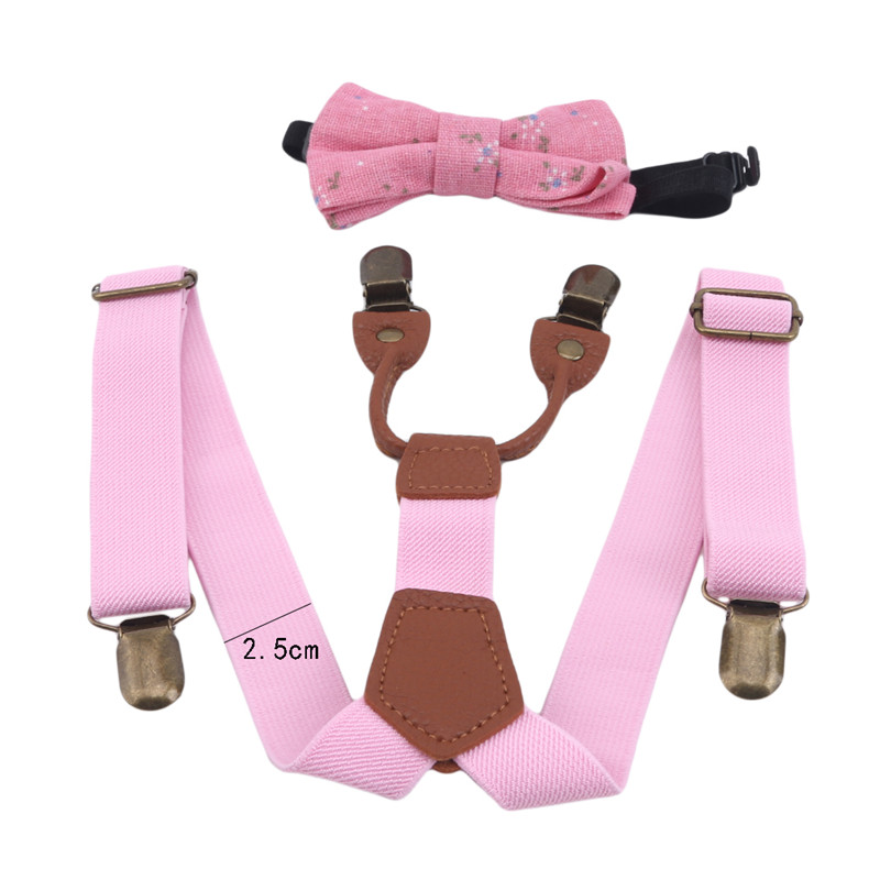 High Elastic Elastic Butterfly Knot Kids Baby Boys Toddler Wedding Matching Suspenders Braces And Luxury Bow Set