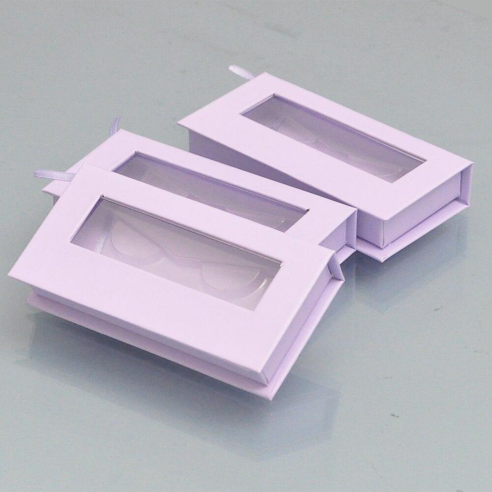 100 pacote personalizado logotipo lash caixas de 04