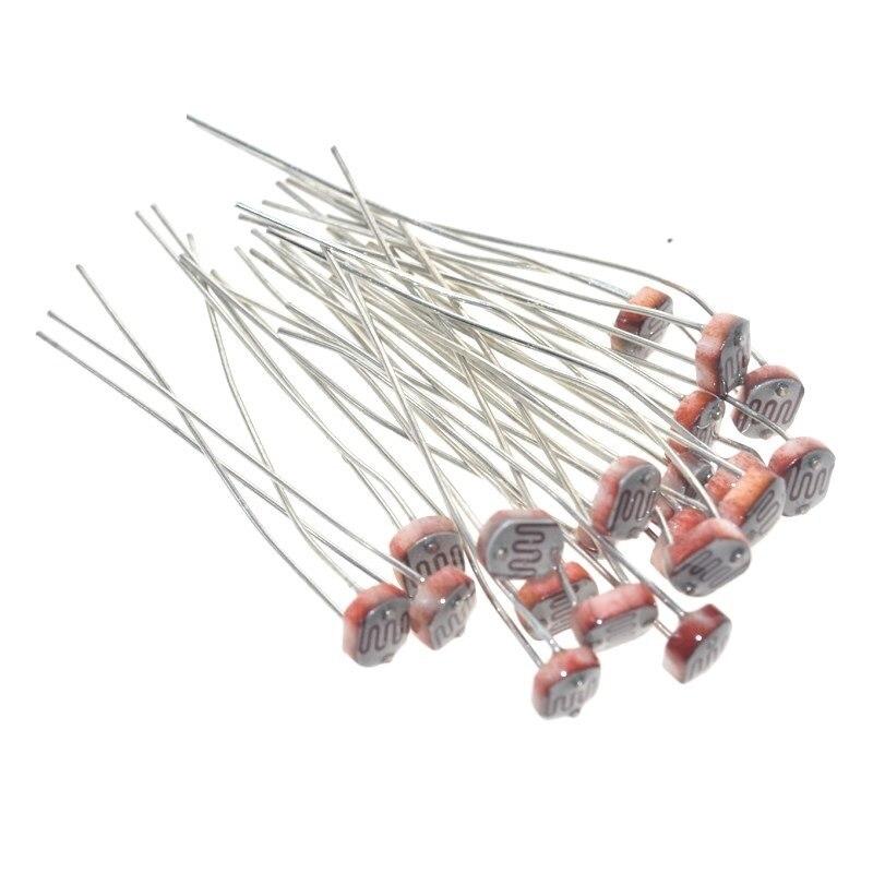 20PCS LDR Photo Light Sensitive Resistor Photoelectric Photoresistor 5528 GL5528