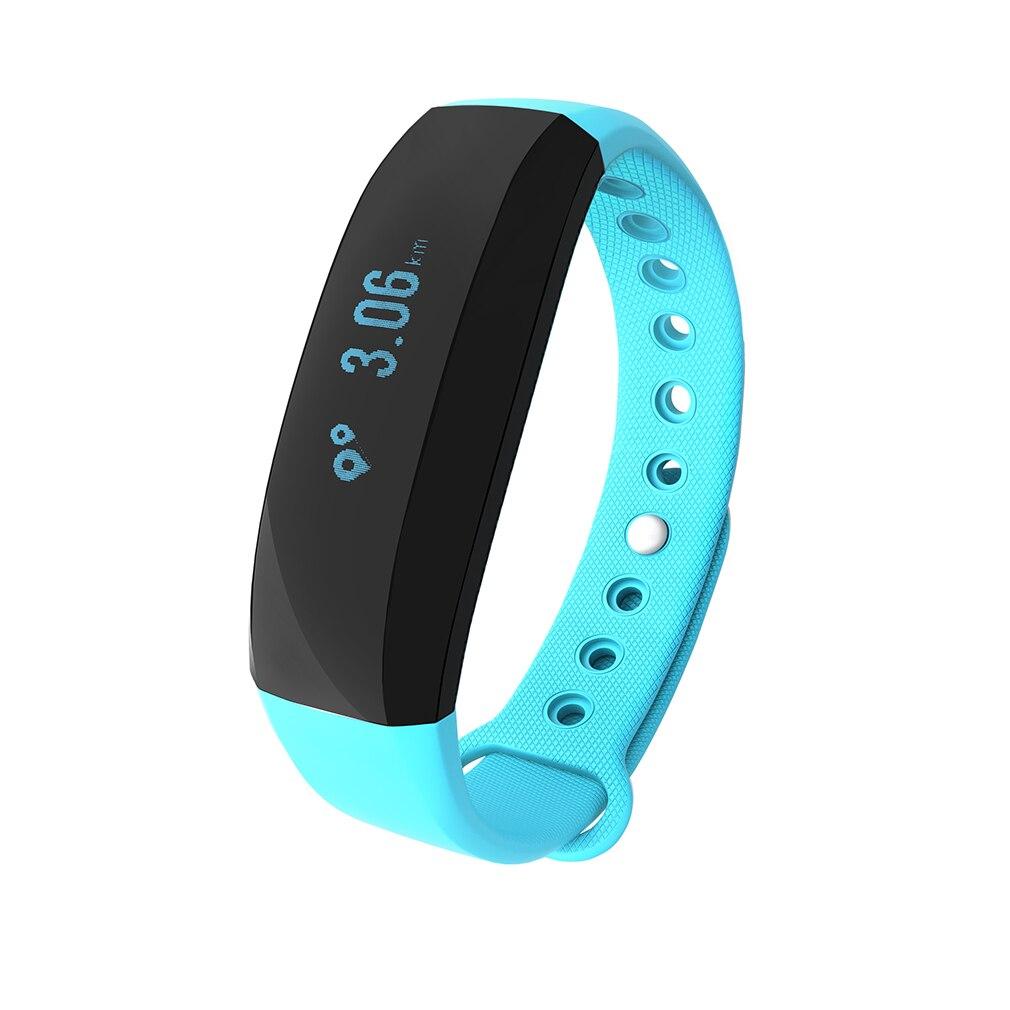 V2 0.88 Inch Multifunctional Smart Bracelet OLED Screen Smart Band Heart Rate Monitoring TPU Smart Watch