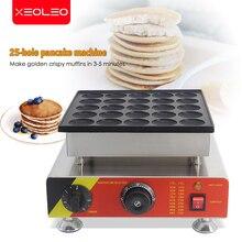 XEOLEO 25 trous machine à crêpes 800W Dorayaki fabricant antiadhésif Poffertjes machine Mini Dorayaki Griller Mini gâteau fabricant