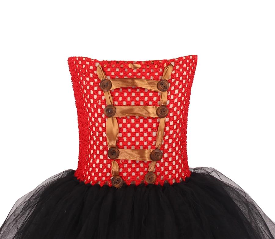 Girls Ringmaster Costume Circus Nutcracker Fancy Tutu Dress Kids Tulle Birthday Party Dress Girl Halloween Dress Up Clothes (12)