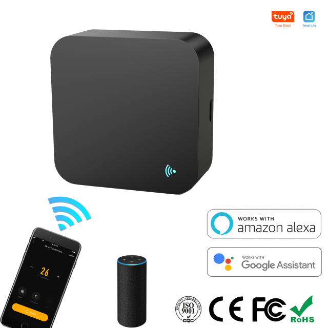 IR Remote Control Smart wifi Universal Infrared Tuya for smart home Control for TV DVD AUD AC Works with Amz Alexa Google Home 1