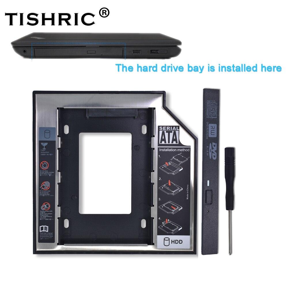 Tishric Universal Plastic Aluminum 12.7mm SATA 3.0 2.5