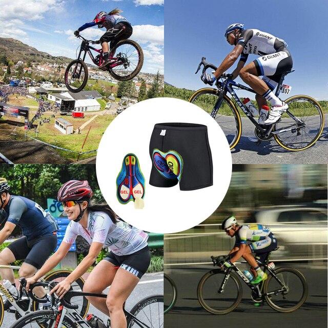 Newboler ανδρικά σορτς ποδηλασίας με προστατευτική επιφάνεια από τζέλ. Μεγέθη 5d με 20d