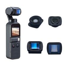 Protable mini 1.33x anamorphic lente grande angular para dji osmo bolso 2 profissional hd filme tiro câmera de vídeo acessório