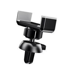 New Air Vent Mount Car Phone Holder for iPhone Samsung Car Holder Adjustable 360 Rotating Updated Car Phone Holder Stander Stand