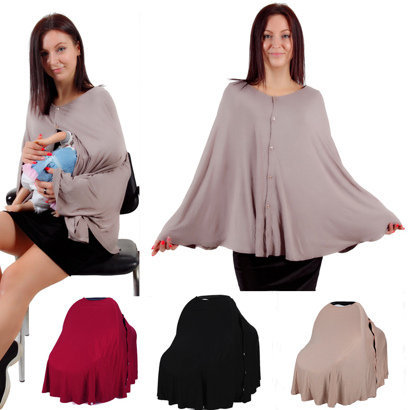 Breastfeeding Overclothes Multi-functional Breastfeeding Cover Baby Car Hood Cover Button Hu Li Jin Lactating Clothing Nursing B
