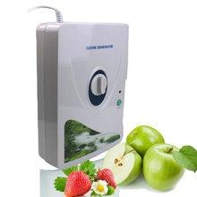 Casa desodorizador 600mg gerador de ozônio purificador de ar filtro germicida ozonizador concentrador oxigênio água purificação esterilização