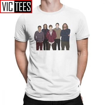 The Silicon Five Silicon Valley Tshirt Men's Cotton T-Shirt Aviato Hooli Geek Tv Nerd Funny