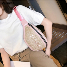 Women Straw Waist Bag Banana Chest Womens Belt Beach Pockets Pouch