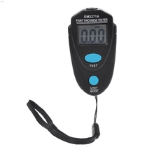 EM2271A Mini LCD Digital Automobile Thickness Gauge Car Paint Tester Display Thickness Coating Meter Testing Instrument gy910 handheld digital coating thickness gauge tester fe nfe coatings lcd display