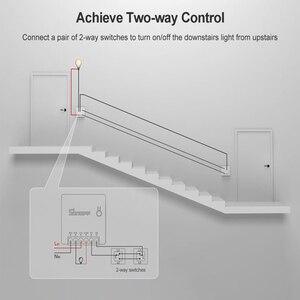 Image 2 - Sonoff minicontrolador inteligente R2 con Wifi, enchufe inteligente de 2 vías DIY con Control remoto en casa, temporizador, funciona con Alexa y Google Home, 2/3/5/6/8/10 Uds.