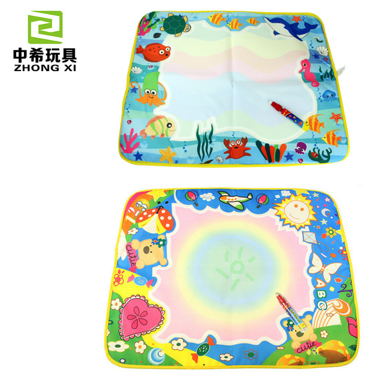 1373 Color Magic Canvas Children Doing Homework Blanket Graffiti Baby Educational Early Childhood Toy 60X49