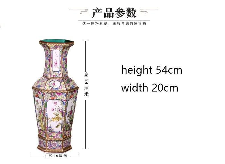 Chão Clássico Chinês Arranjo Arranjo da Sala De Artesanato Em Cerâmica