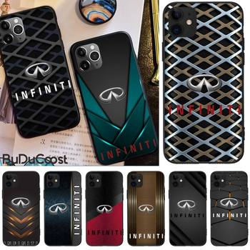 INFINITI car brand Phone Case For iPhone 11 7 Case For iPhone 11 Pro Max X XS XR XS MAX 8 7 6s Plus 5 SE Case image