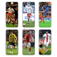 Transparente macio Casos Capas Para iPod Touch Apple iPhone 4 4S 5 5S SE 5C 6 6S 7 8 X XR XS Mais MAX Poland Jogador(China)