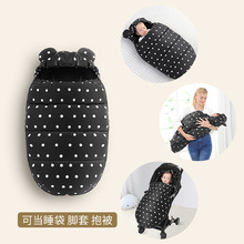 цены Newborn Sleepsacks Baby Stroller Sleeping Bag Winter Warm Sleepsack Windproof For Infant Wheelchair Envelopes For Baby Footmuff