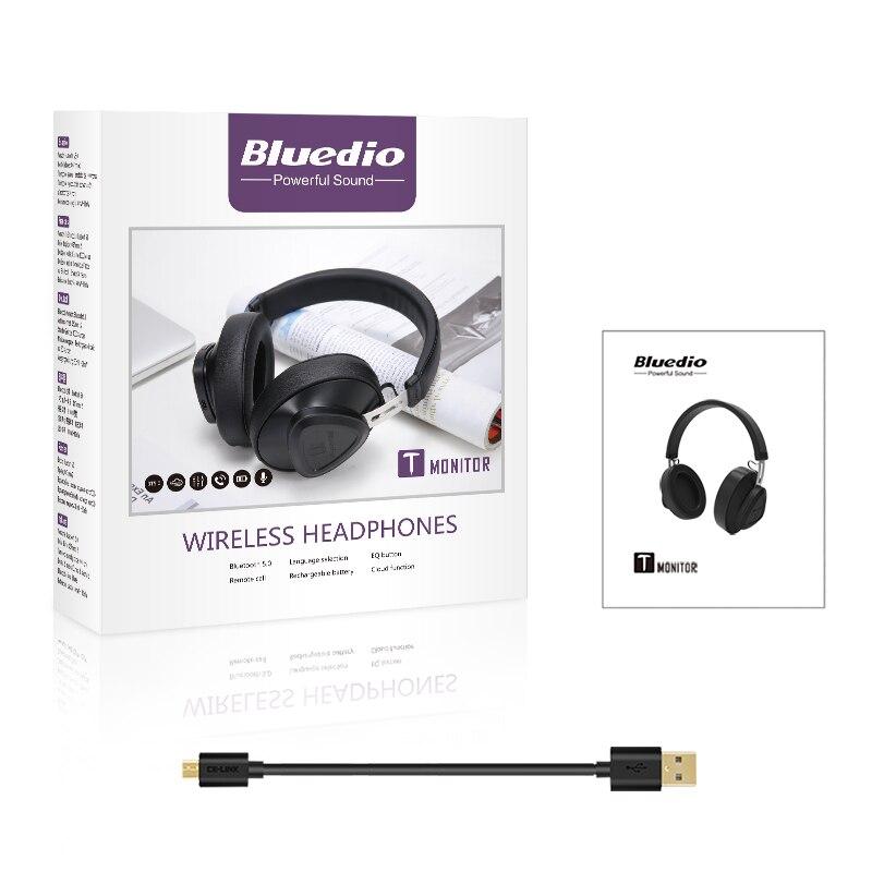 Bluedio wireless headphone with microphone 5