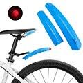 Велосипедные Крылья MTB Телескопические Складные передние и задние брызговики быстросъемные велосипедные крылья с задним фонарем велосипе...