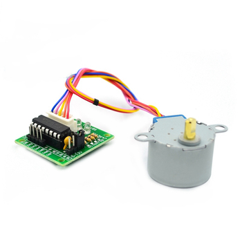 ULN2003 28BYJ-48 12V Reduction Stepper Motor Gear Step 4 Phase 28BYJ DC 12 V For Arduino Diy Kit - discount item  30% OFF Electrical Equipment & Supplies