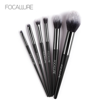 FOCALLURE Professionelle Make-Up Pinsel Set 6 Pcs Pinsel Weiche Haar Kosmetik Make-Up Pinsel Kit