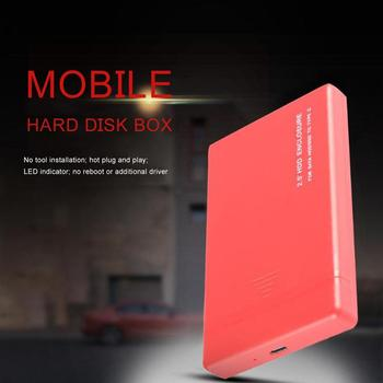 HDD Case 6/10Gbps 2.5inch SATA USB 3.1 Type-C HDD Enclosure Hard Disk Drive SSD Case