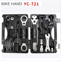 18 in 1 Multifunction Bicycle Tools Kit Portable Bike Repair Tool Box Set Hex Key Wrench Remover Crank Puller Cycling Tools|Bicycle Repair Tools|Sports & Entertainment -