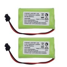 2.4V 1400mAh NiMH Cordless Phone Rechargeable Battery BT-100