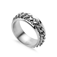 New Fashion Stainless Steel Titanium Chain Ring Beer Opener кольцо Rings for Men