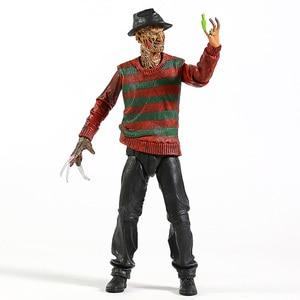 "Image 3 - NECA Nightmare On Elm Street Freddy Krueger 30th PVC Action Figureของเล่นสะสม7 ""18ซม"