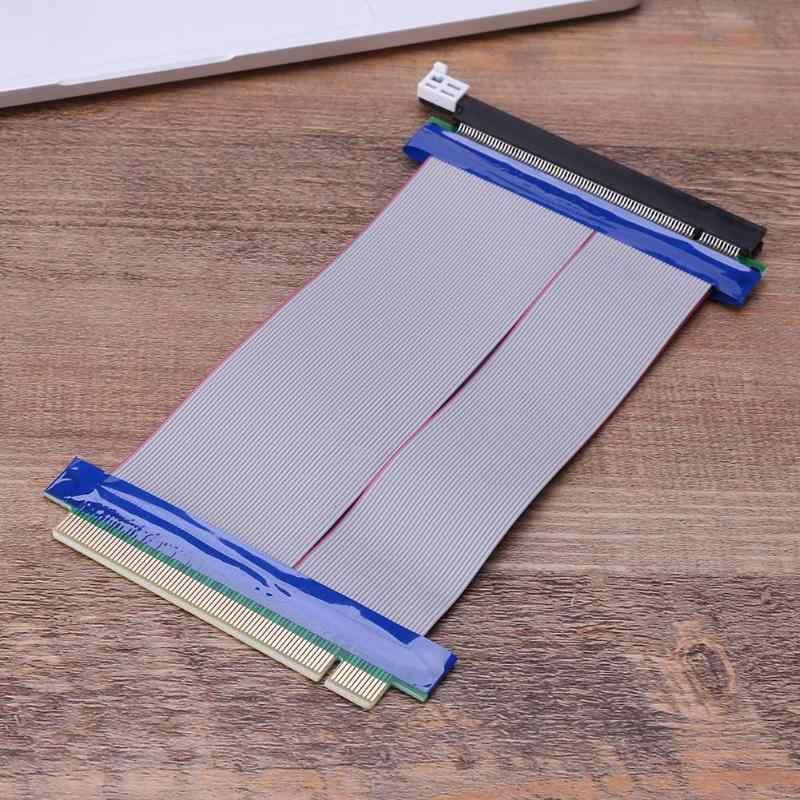 1pc 15cm pci express PCI-E 16X wzmacniacz karty riser elastyczne przedłużenie kabel karta rozszerzająca rozszerzenie adapter portu