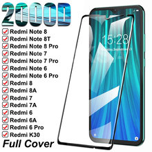 2000D Tempered Glass For Xiaomi Redmi 8 8A 7 7A 6 6A K30 Pro Screen Protector Glass Redmi 10X Note 8 7 6 Pro Protective Glass