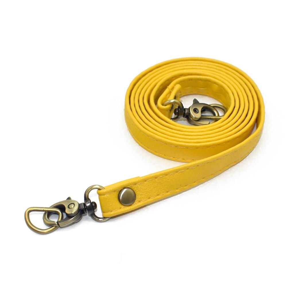 120cm Shoulder Bag Strap PU leather handbag Handles DIY Adjustable Bag Belt Solid Bag Strap Replacement Bag Accessories