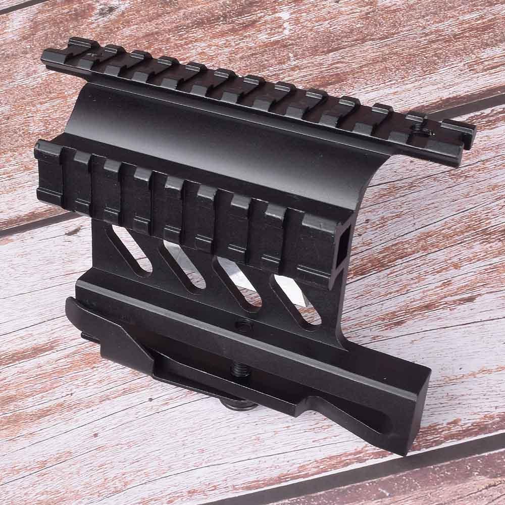 Тактический Кронштейн Picatinny Weaver AK для охотничьих винтовок, двусторонний кронштейн для прицела