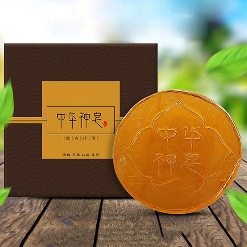 Magic Oil Control Soap Body Skin Exfoliating Whitening Natural Bath Oil Soap Shower Remover Cleansing Magic Soap 58g