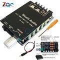 ZK-1002 HIFI беспроводной Bluetooth 5 0 TPA3116 цифровой усилитель мощности аудио Плата 100 Вт X2 стерео усилитель Amplificador домашний кинотеатр