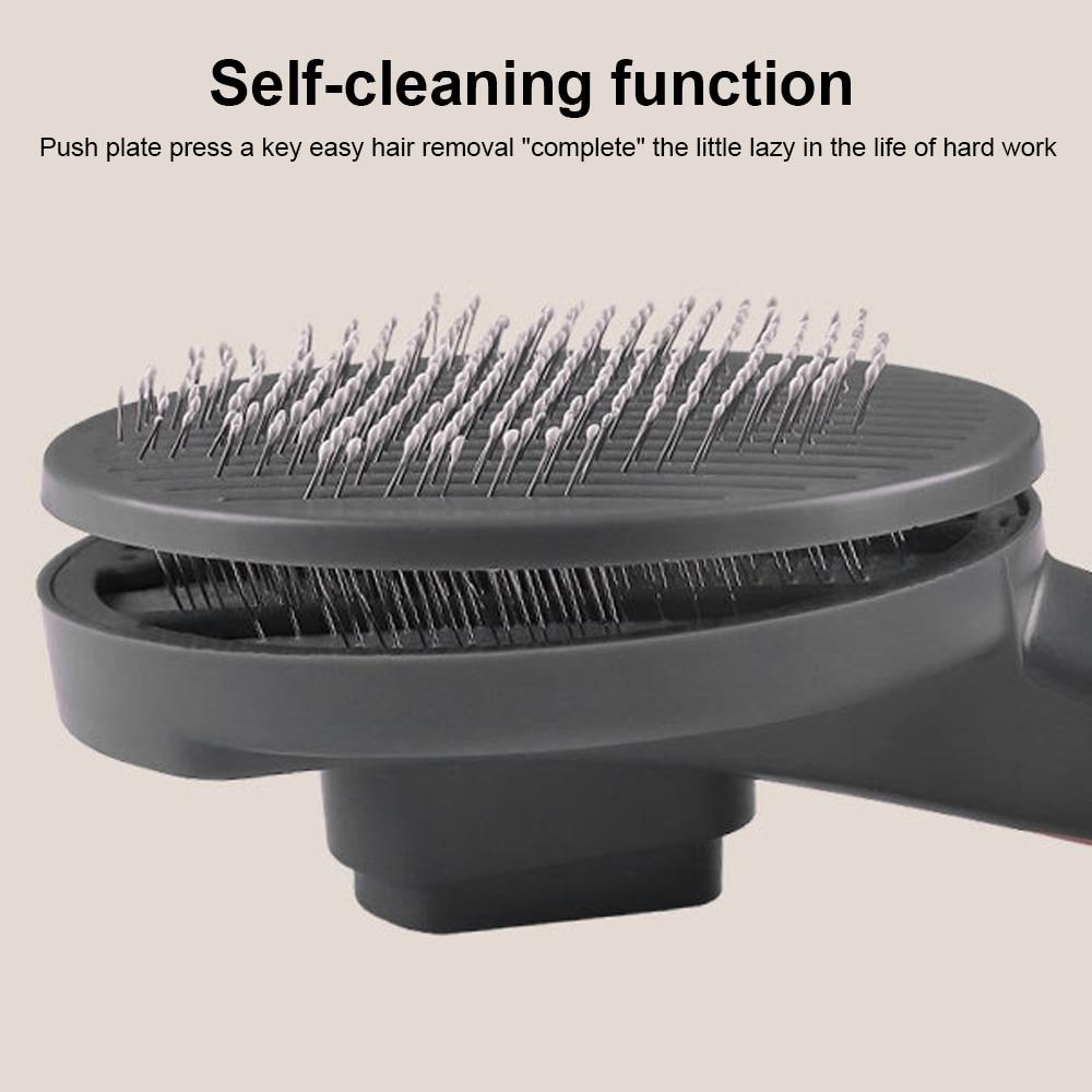 1Pc Self Cleaning Pet Hairbrush